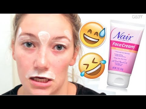 Nair Hair Removal Product Review Youtube