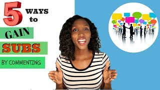 Video How to GET MORE SUBSCRIBERS | 5 ways through Comments download MP3, 3GP, MP4, WEBM, AVI, FLV Juli 2018