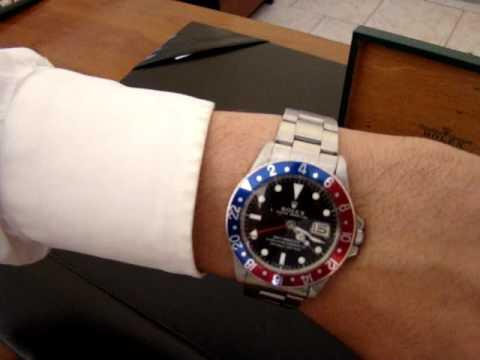 promo code 069f5 ae2b9 Vendo Rolex Gmt #80