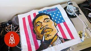 Hip-Hop's Cross-Stitch Gawd