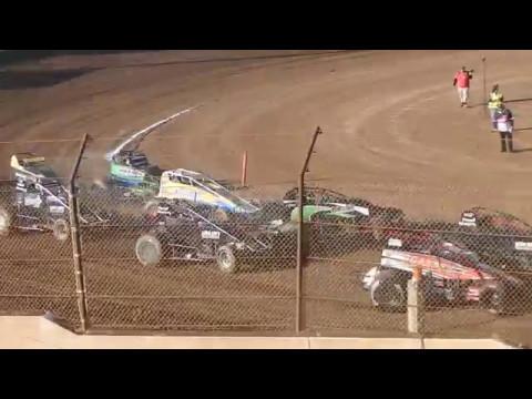 Usac/Cra Sprint Cars Heat #1 Ventura Raceway 5/6/17
