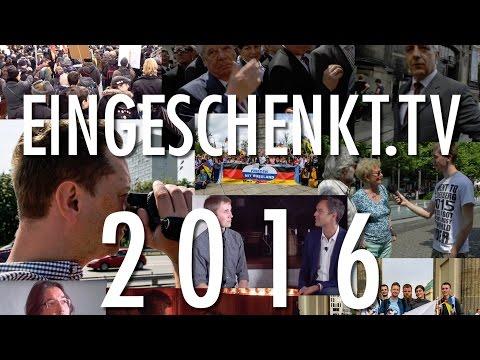 eingeSCHENKt.tv - Jahresrückblick 2016 - Wir sagen Danke!!!