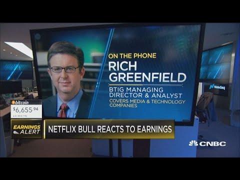 Wall Street reacts to Netflix