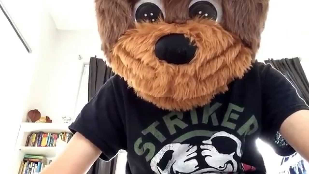 Uncategorized How To Make A Bear Mask awesome animotion teddy bear mask from spirit youtube