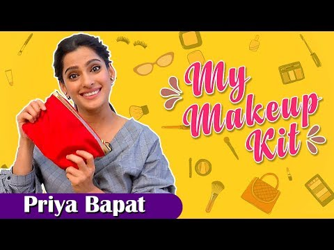 My Makeup Kit With Priya Bapat | Marathi Actress | Gachchi, Vazandar & Timepass 2 Marathi Movies thumbnail