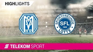 SV Meppen - Sportfreunde Lotte | Spieltag 20, 18/19 | Telekom Sport