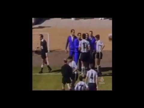 Anglia - Argentyna na mundialu w 1966 roku. Wideo
