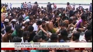 UNHCR spokesperson Babar Baloch talks to BBC on Southeast Asia boat crisis