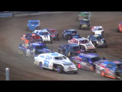 IMCA Sport Mod feature Independence Motor Speedway 8/12/17