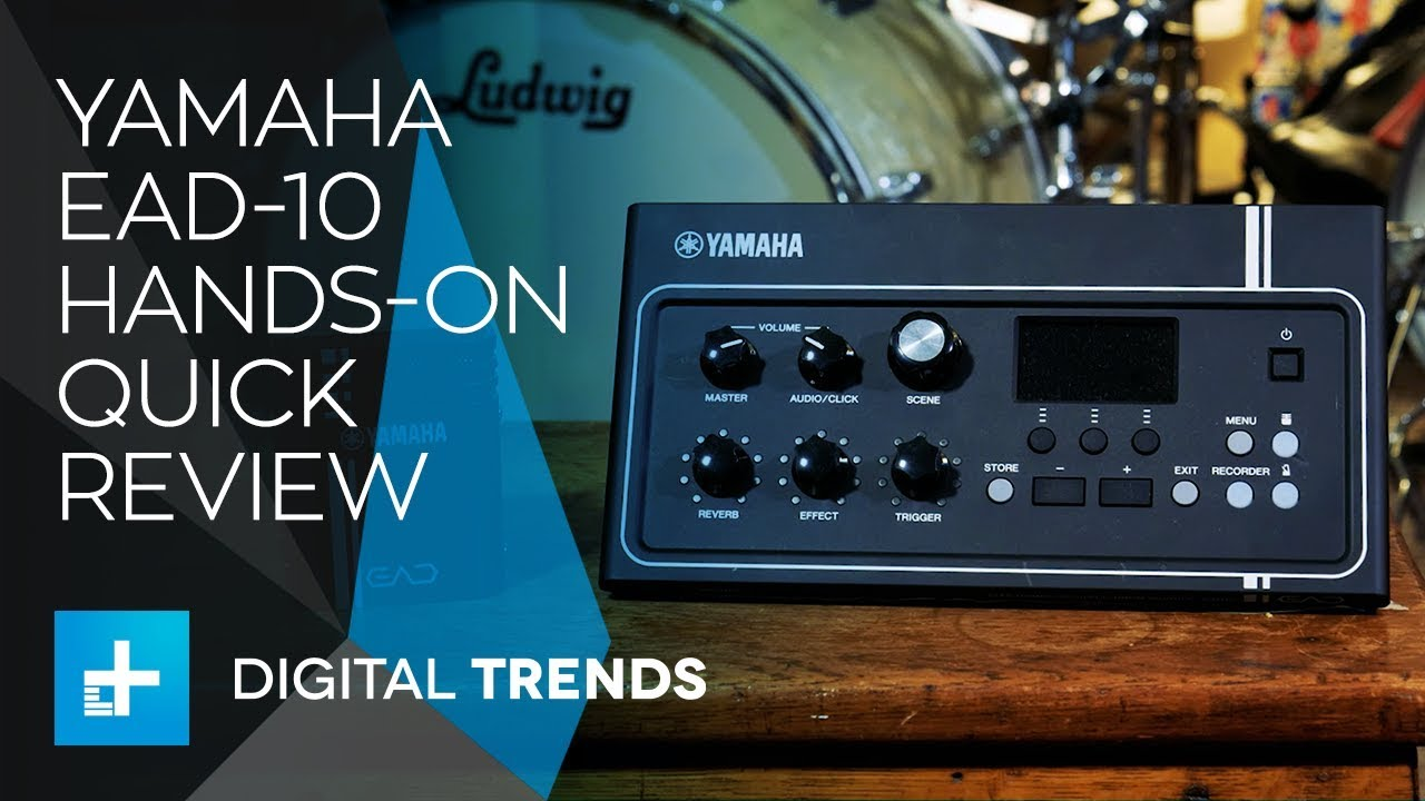 Yamaha EAD-10 – Hands On Quick Review