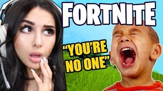 KID IS *MEAN* ON FORTNITE THEN FINDS OUT I'M A GIRL...