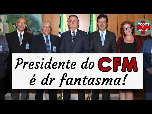 Presidente do CFM é investigado. NÃO APARECIA NOS PLANTÕES!
