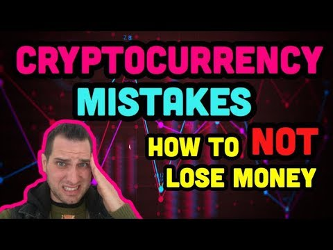 Top 3 Cryptocurrency Mistakes | How To Make Money With Crypt
