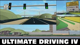 ROBLOX Ultimate Driving: Currituck, NC-getting stuck-and finding another similar Lamborghini