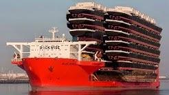 Mega Ship Blue Marlin - ship shipping ships