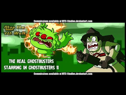 The Real Ghostbusters in Ghostbusters II #1-3 - Atop the Fou