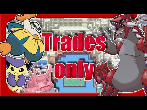 Can You Beat Pokemon Ruby With Only In Game Traded Pokemon ? (No Items)