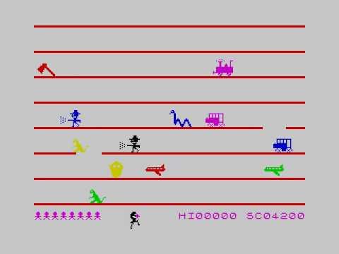 Jumping Jack ZX Spectrum © 1983 Imagine