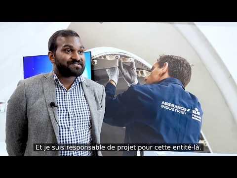 Prabal COUTCHAM, promo 2015,  Une double formation ESTACA/HEC pour intégrer Air France Industries