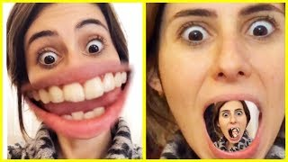 Instagram Faces Funny Fun Face Change Dila Kent