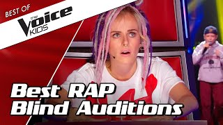 TOP 10 | Surprising YOUNG RAPPERS in The Voice Kids