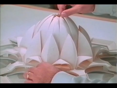 The Design Of The Indian Baháí Lotus Temple Jewel In The Lotus