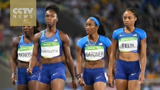IAAF rejects Chinese protests as Americans get 4x100 do-over