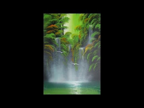 Spray paint art – Amazonas – made by street artist *time lapse*