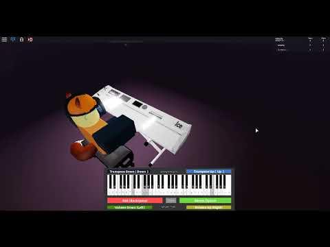 Married Life Piano Roblox Married Life Robloxian Piano Virtual Piano Youtube