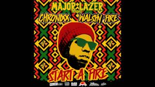 Chronixx   Start A Fyah Mixtape   05 ODD RAS REMIX MAJOR LAZER)