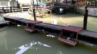 Pancing udang galah kolam Tepian Rimba (prawn fishing)