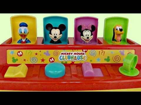 Mickey Mouse Clubhouse POP UP PALS With Toys Unlimited