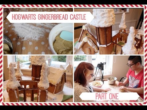 Gingerbread Hogwarts Castle with David Part 1 of 2 | The Book Life (BookLifeBakes)