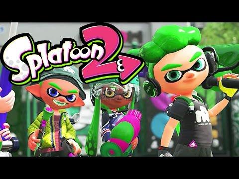 Splatoon 2 - Global Testfire #01 - Nintendo Switch Gameplay - NEW Splat Dualies & Maps - Live Stream