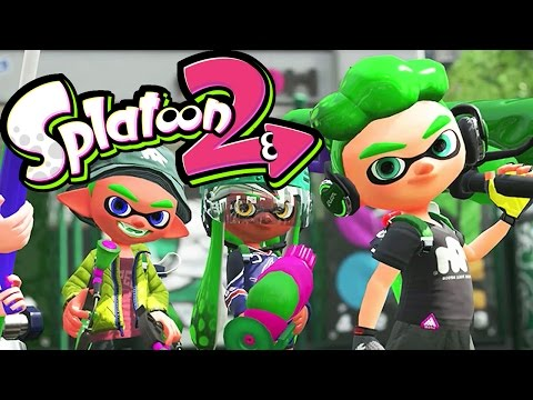Splatoon 2 - Global Testfire #01 - Nintendo Switch Gameplay - NEW Splat Dualies & Maps - Live Stream