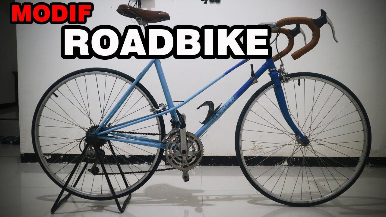 Sepeda Federal Saphire Mixte Modif Roadbike Youtube