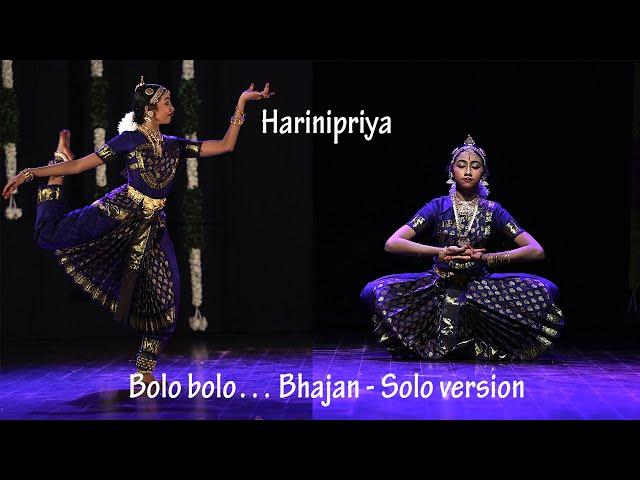 Harinipriya's  Thematic Arangetram - Bhajan