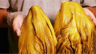 Cách Muối Dưa với Mía màu dưa vàng đẹp mùi thơm ăn vị dưa rất là ngon