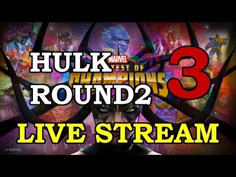 Hulk Round 2 - Part 3 | Marvel Contest of Champions Live Stream
