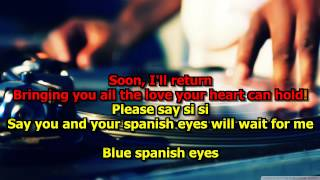 Spanish Eyes - Engelbert Humperdinck (Karaoke) HD