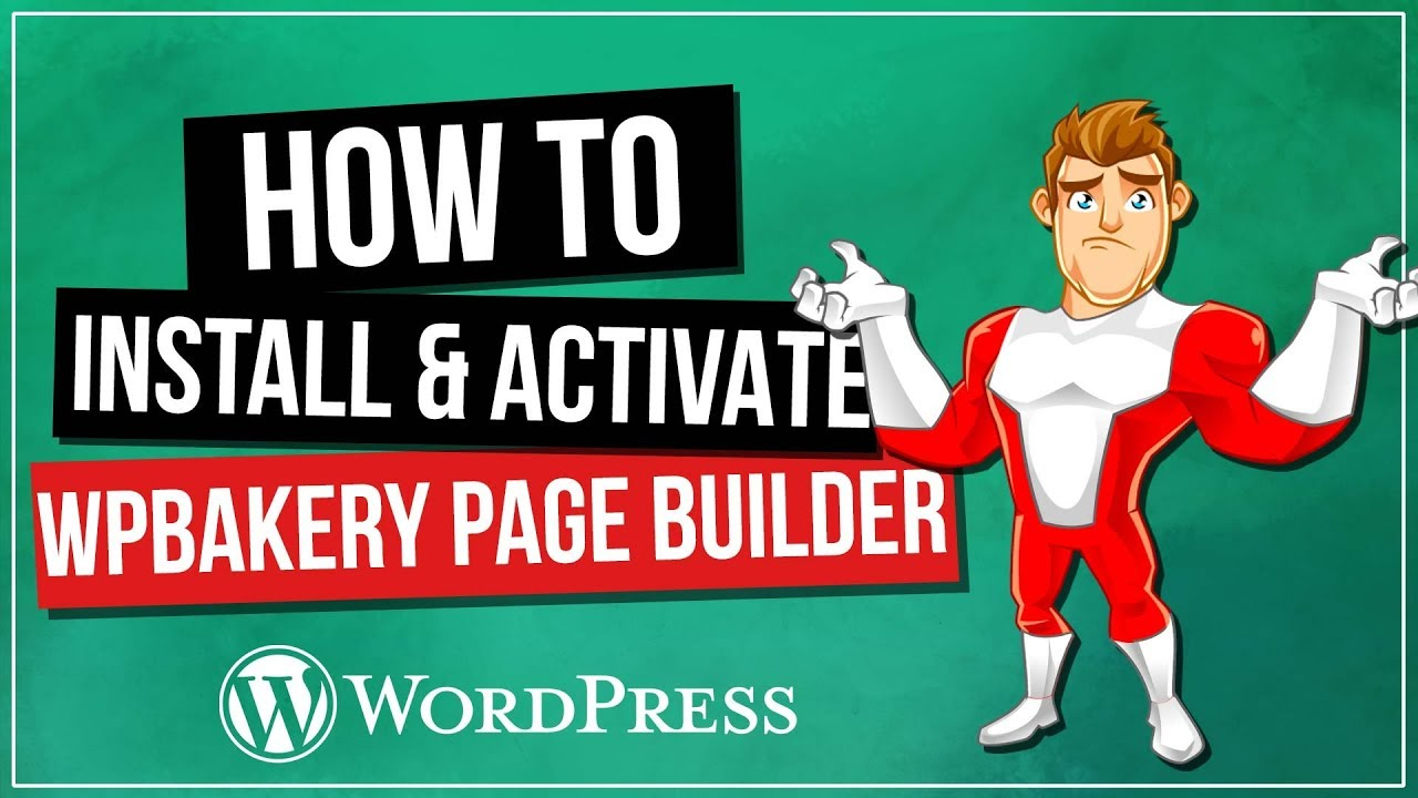 WPBakery Page Builder Installation & Activation