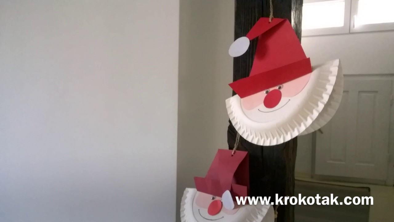 YouTube Premium & Make a Santa Paper Plate - YouTube
