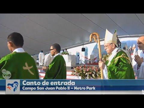 Canto de Entrada//Missa de Encerramento da JMJ PANAMÁ 2019 (27/01)