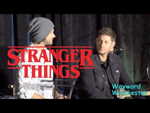 Jensen Ackles Is 'VERY EXCITED' About Stranger Things SPNNOLACon 2017