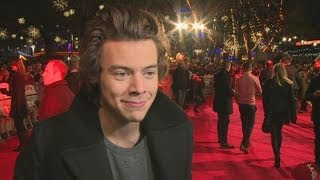 Harry Styles on his perfect woman 1D star on being single David Beckham and being back home