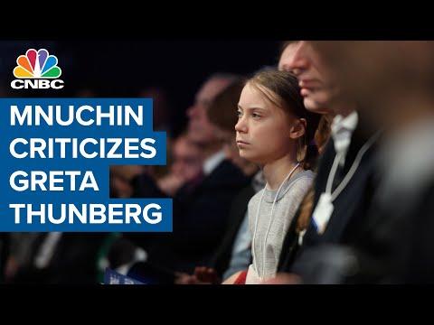 Mnuchin Schools Greta Thunberg By Telling Her To Go To School