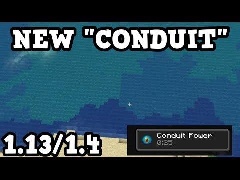 Minecraft 1.13 NEW Conduit & Dolphin Behaviour! thumbnail