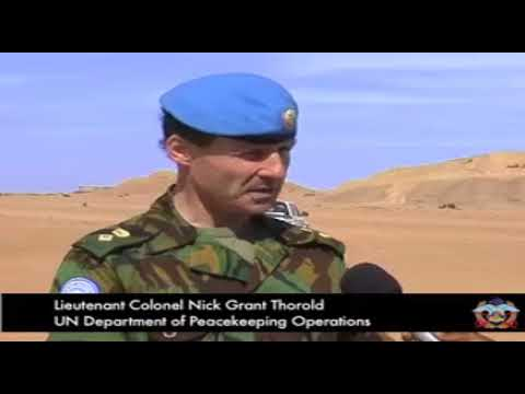 Namibian Army deployment to UNMIL