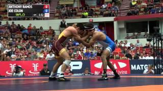 57kg Finals (1 of 2), Joe Colon, Titan Mercury WC vs Anthony Ramos, Titan Mercury WC