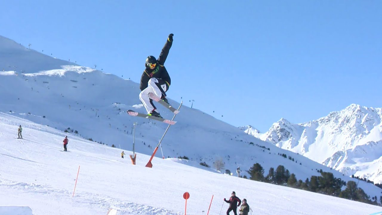 Wie macht man ein 360 auf Skiern? (Deutsch) - YouTube